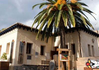 Centro de visitantes do Parque Natural da Serra de Espadán