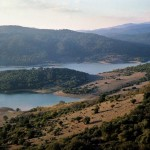 Naturpark Los Alcornocales. Castellar de la Frontera, stausee Guadarranque. Foto: Lluís Català