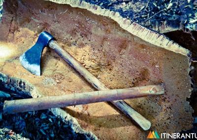 L'estrazione del sughero e la sorpresa di Almedíjar